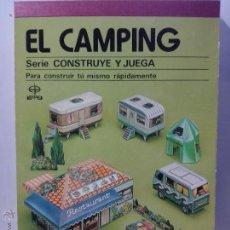 Coleccionismo Recortables: EDAF RECORTABLE CAMPING. Lote 53752504