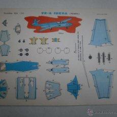 Coleccionismo Recortables: RECORTABLE EVA AVION TS-2 ISKRA POLONIA. Lote 53851617