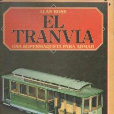 Coleccionismo Recortables: RECORTABLE EL TRANVIA SUPER MAQUETA PARA ARMAR CONSTRUYE Y JUEGA EDAF 1985 CARTULINA TREN.DA. Lote 53962728