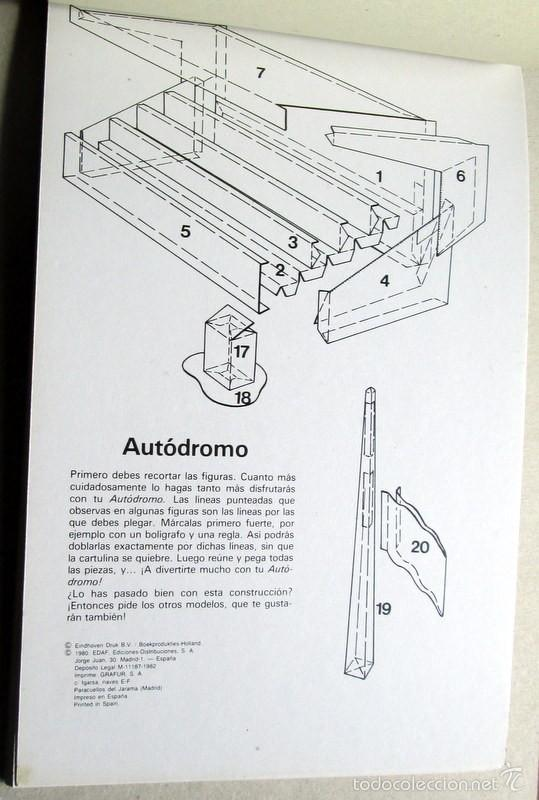 Coleccionismo Recortables: RECORTABLE DE COCHES AUTODROMO - Foto 2 - 56224135