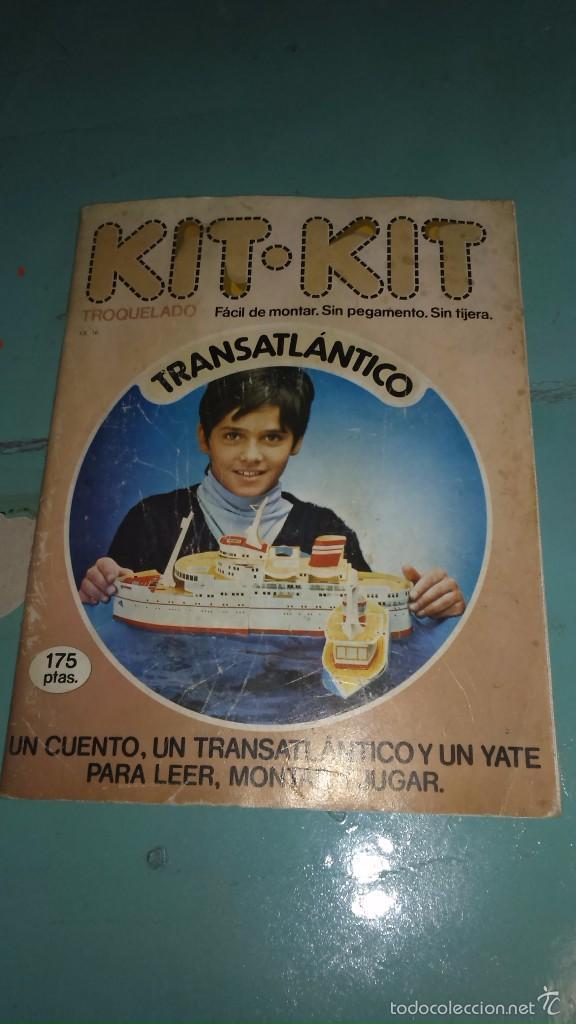 RECORTABLE DE ARGOS VERGARA---TRANSATLANTICO (Coleccionismo - Recortables - Transportes)