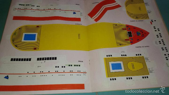 Coleccionismo Recortables: RECORTABLE DE ARGOS VERGARA---Transatlantico - Foto 3 - 128132762