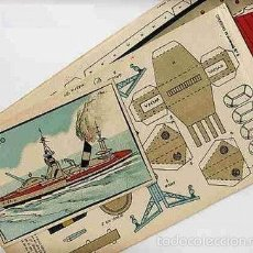 Coleccionismo Recortables: RECORDABLE BARCO CRUCERO. AÑOS 40.. Lote 56283087