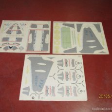 Coleccionismo Recortables: ANTIGUO RECORTABLE AVION DOUGLAS DC-6B SUPER 6 CLIPPER EN 3 LAMINAS DE 43X36 CM. - AÑO 1960S.. Lote 198754987