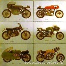 Coleccionismo Recortables: MOTOS ANTIGUAS RECORTABLES - TAMAÑO POSTAL. Lote 60054407