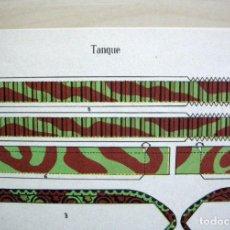 Coleccionismo Recortables: RECORTABLE TANQUE - LA TIJERA - SERIE IMPERIO (29X40 CM) Nº 4. Lote 62736620