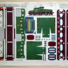 Coleccionismo Recortables: LOCOMOTORA ELECTRICA - GRÁFICAS REUNIDAS - 5 B Nº3. Lote 62738260