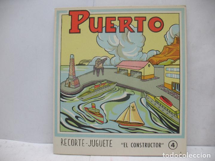 Coleccionismo Recortables: EL CONSTRUCTOR Ref: 1,2,3,4 y 5 - Lote de 7 recortables urbanos, ferroviarios, aeropuerto, puerto... - Foto 2 - 68226057