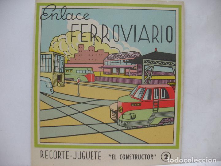 Coleccionismo Recortables: EL CONSTRUCTOR Ref: 1,2,3,4 y 5 - Lote de 7 recortables urbanos, ferroviarios, aeropuerto, puerto... - Foto 8 - 68226057