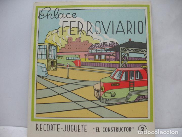 Coleccionismo Recortables: EL CONSTRUCTOR Ref: 1,2,3,4 y 5 - Lote de 7 recortables urbanos, ferroviarios, aeropuerto, puerto... - Foto 10 - 68226057