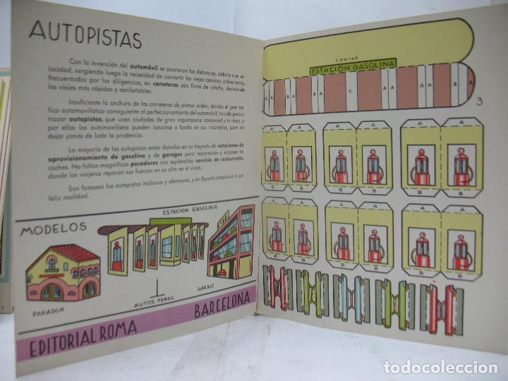 Coleccionismo Recortables: EL CONSTRUCTOR Ref: 1,2,3,4 y 5 - Lote de 7 recortables urbanos, ferroviarios, aeropuerto, puerto... - Foto 13 - 68226057