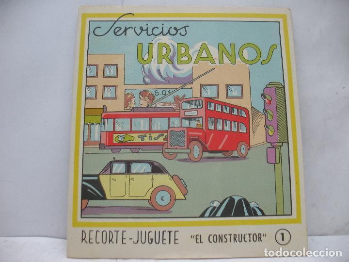 Coleccionismo Recortables: EL CONSTRUCTOR Ref: 1,2,3,4 y 5 - Lote de 7 recortables urbanos, ferroviarios, aeropuerto, puerto... - Foto 14 - 68226057