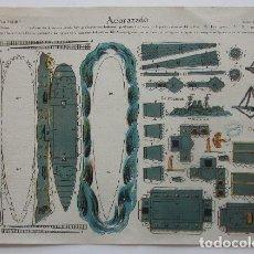 Coleccionismo Recortables: RECORTABLE BUQUE ACORAZADO - EDICIONES LA TIJERA. Lote 79273477