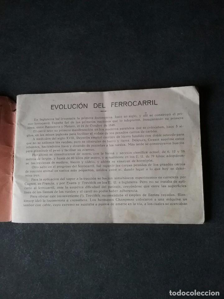 Coleccionismo Recortables: Los caminos de hierro , todos los tipos de locomotoras. - Foto 4 - 86238184