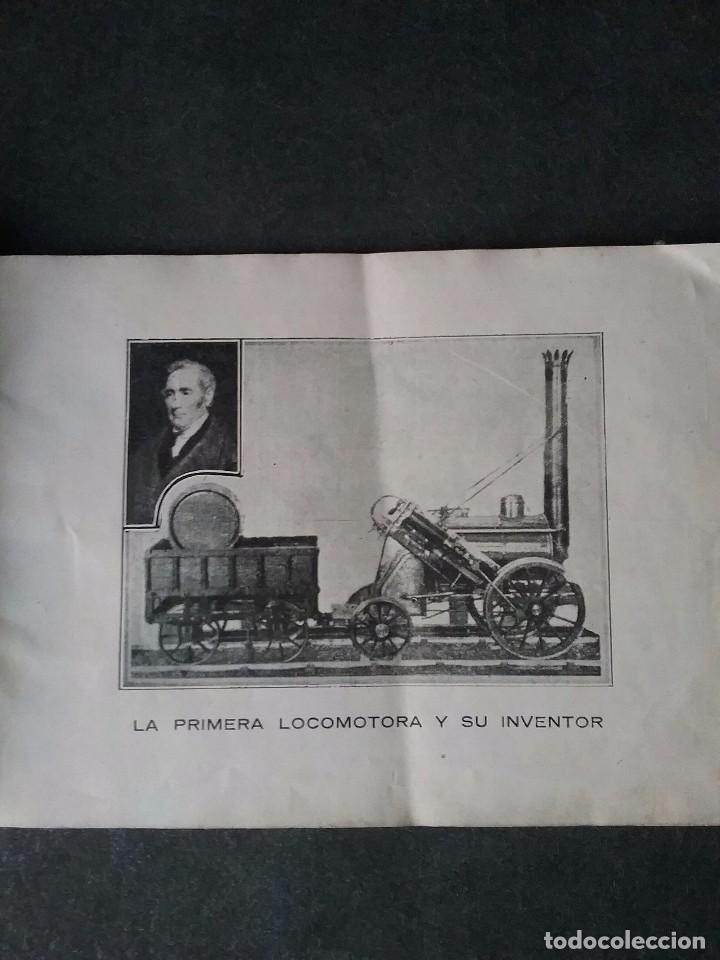 Coleccionismo Recortables: Los caminos de hierro , todos los tipos de locomotoras. - Foto 5 - 86238184
