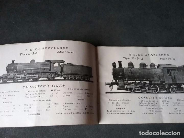 Coleccionismo Recortables: Los caminos de hierro , todos los tipos de locomotoras. - Foto 6 - 86238184
