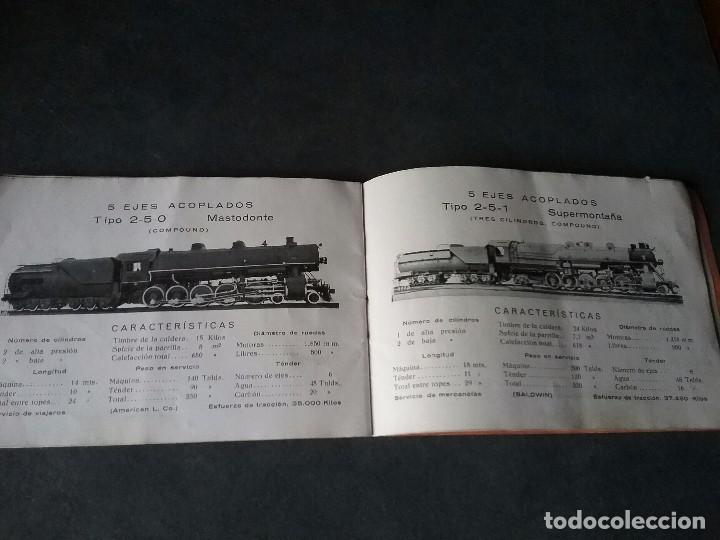 Coleccionismo Recortables: Los caminos de hierro , todos los tipos de locomotoras. - Foto 7 - 86238184