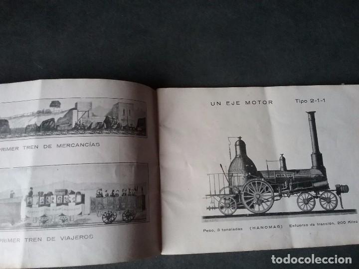 Coleccionismo Recortables: Los caminos de hierro , todos los tipos de locomotoras. - Foto 10 - 86238184