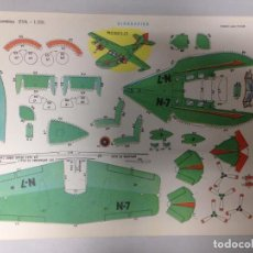 Collectionnisme Images à Découper: RECORTABLE EVA Nº 1206 HIDROAVION. Lote 87730116