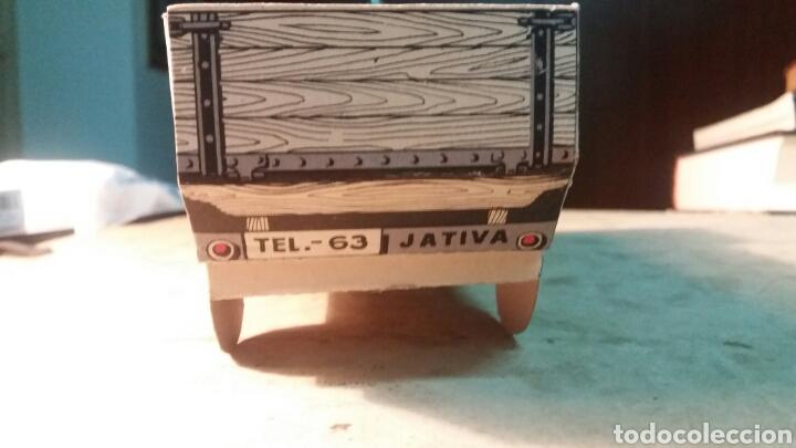 Coleccionismo Recortables: Jativa, jabones El Camión. Recortable - Foto 3 - 96177650