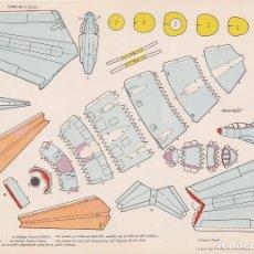 Coleccionismo Recortables: AVIÓN SABRE MK-6 (ESTADOS UNIDOS) RECORTABLES TORAY Nº 35. Lote 132324787