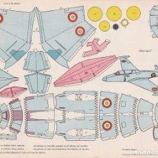 Coleccionismo Recortables: AVION FIAT G-82 (ITALIA) RECORTABLES TORAY Nº 39. Lote 132325305