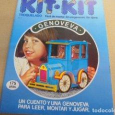 Coleccionismo Recortables: KIT KIT 21 - COCHE ANTIGUO GENOVEVA - 1980 - SIN USAR /. Lote 100008083