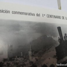 Coleccionismo Recortables: EXPOSICIÓN CONMEMORATIVA DEL 1ER. CENTENARIO DE LA V. A. Y.- 2 HOJAS 17.5 X23 CM. (CERRADO) SALA DE-. Lote 103327379