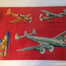 Collectables Paper Dolls - RECORTABLE AVIONES - RECORTES ULTRA Nº 3 - EDITORIAL ROMA BARCELONA, 1961. - 103381819