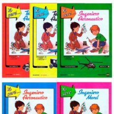 Coleccionismo Recortables: RECORTABLES YO SERE… 1 A 5. COMPLETA 5 NÚMEROS FHER, 1986. OFRT. Lote 133912325
