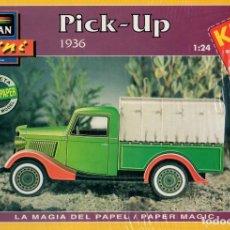 Coleccionismo Recortables: RECORTABLE CAMION PICK-UP 1936. ALCAN 1993. Lote 115387651