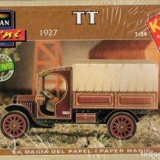 Coleccionismo Recortables: RECORTABLE CAMIONETA T-T 1927. ALCAN 1993. Lote 115388059