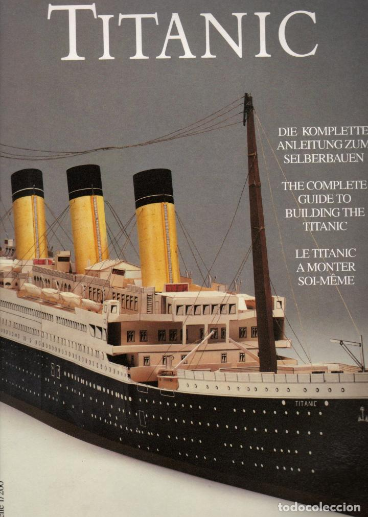 RECORTABLE DEL TITANIC. EXCELENTE. (Coleccionismo - Recortables - Transportes)