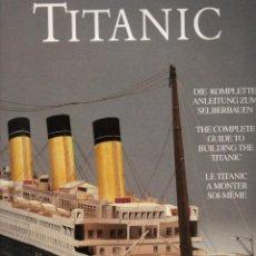 Coleccionismo Recortables: RECORTABLE DEL TITANIC. EXCELENTE.. Lote 116735371