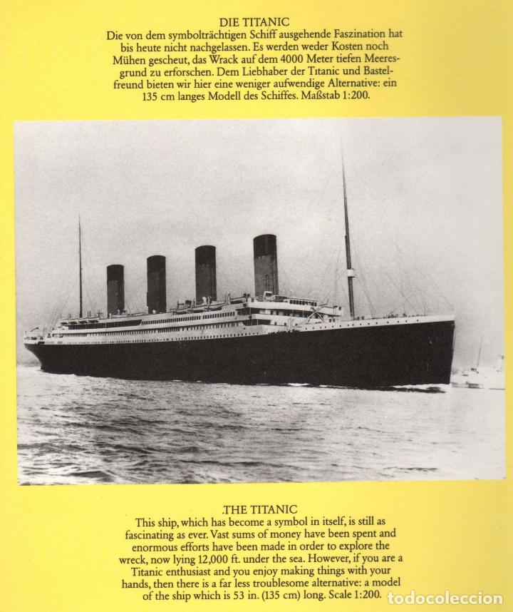 Coleccionismo Recortables: RECORTABLE DEL TITANIC. EXCELENTE. - Foto 2 - 116735371