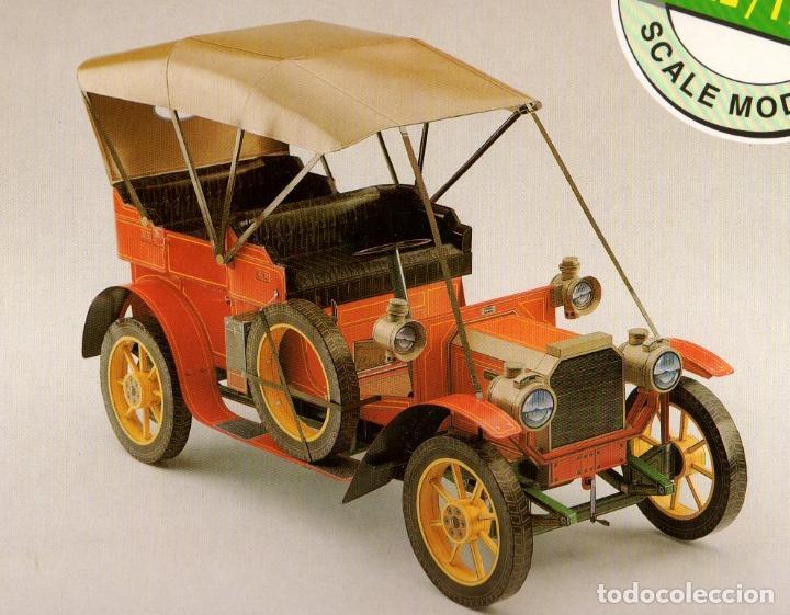 RECORTABLE PEUGEOT TYPE 81 DE 1906. . ALCAN 1993. (Coleccionismo - Recortables - Transportes)