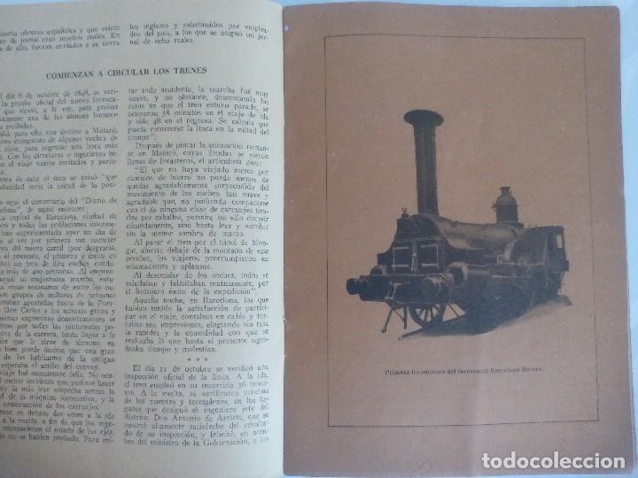 Coleccionismo Recortables: El carril de Mataro - Foto 2 - 120050719