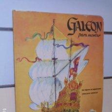 Coleccionismo Recortables: GALEON PARA MONTAR - RECORTABLES LITO . Lote 121633663