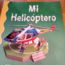 Coleccionismo Recortables: RECORTABLE DE HELICOPTERO CON PERSONAJES YOLI DESIGNS. Lote 123384579