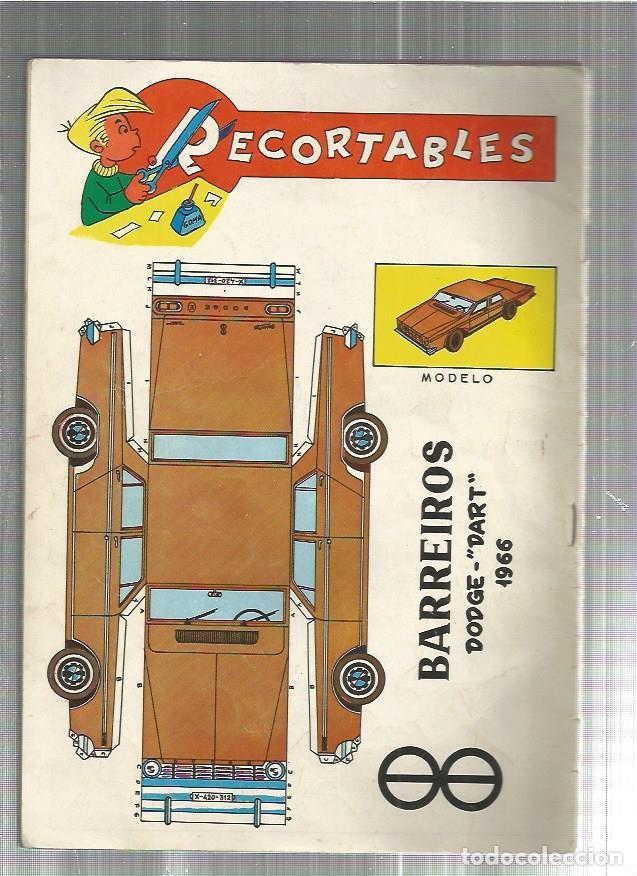 RECORTABLE BARREIROS (Coleccionismo - Recortables - Transportes)