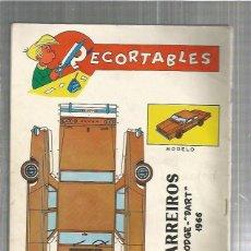 Coleccionismo Recortables: RECORTABLE BARREIROS. Lote 124395220