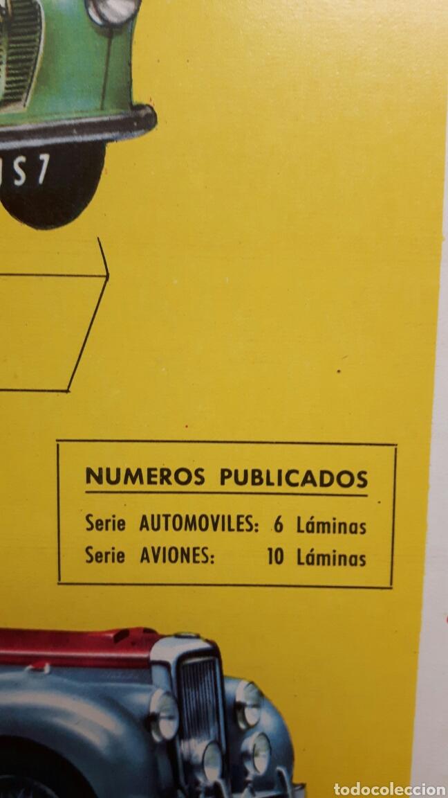 Coleccionismo Recortables: 5 recortables ed Roma (4 aviones 1 coches) - Foto 10 - 127875199