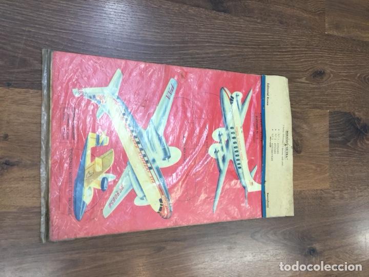 Coleccionismo Recortables: Bolsas Ultra Aviones Nº1 Contiene 5 laminas recortables - Foto 4 - 130400354