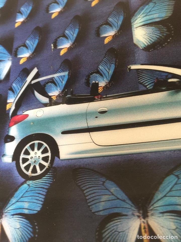 Coleccionismo Recortables: Publicidad, anuncio, recorte publicitario PEUGEOT 206 cc cabrio coupé. Tipo visiorama - Foto 2 - 132211697