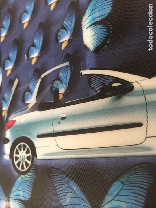 Coleccionismo Recortables: Publicidad, anuncio, recorte publicitario PEUGEOT 206 cc cabrio coupé. Tipo visiorama - Foto 3 - 132211697