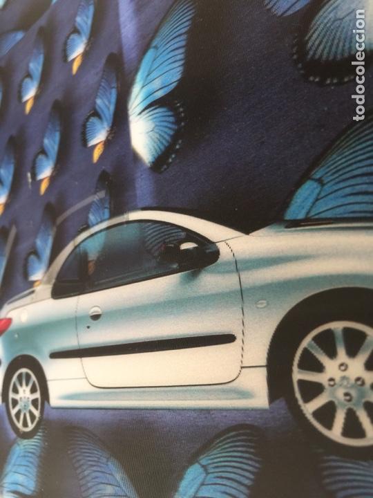 Coleccionismo Recortables: Publicidad, anuncio, recorte publicitario PEUGEOT 206 cc cabrio coupé. Tipo visiorama - Foto 4 - 132211697