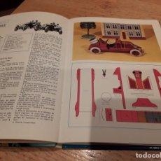 Coleccionismo Recortables: LIBRO COCHES RECORTABLES, 21MODELOS, AÑO 77. Lote 140610230