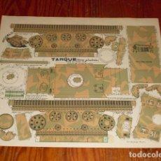 Coleccionismo Recortables: TANQUE (TORRE GIRATORIA)- CONSTRUCCIONES EL SOLDADO -. Lote 143489018