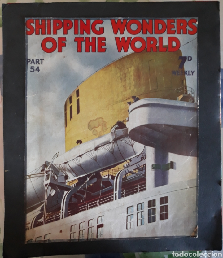 Coleccionismo Recortables: Shipping wonder of the wold magazine - Foto 1 - 144607561