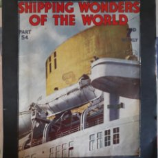 Coleccionismo Recortables: SHIPPING WONDER OF THE WOLD MAGAZINE. Lote 144607561